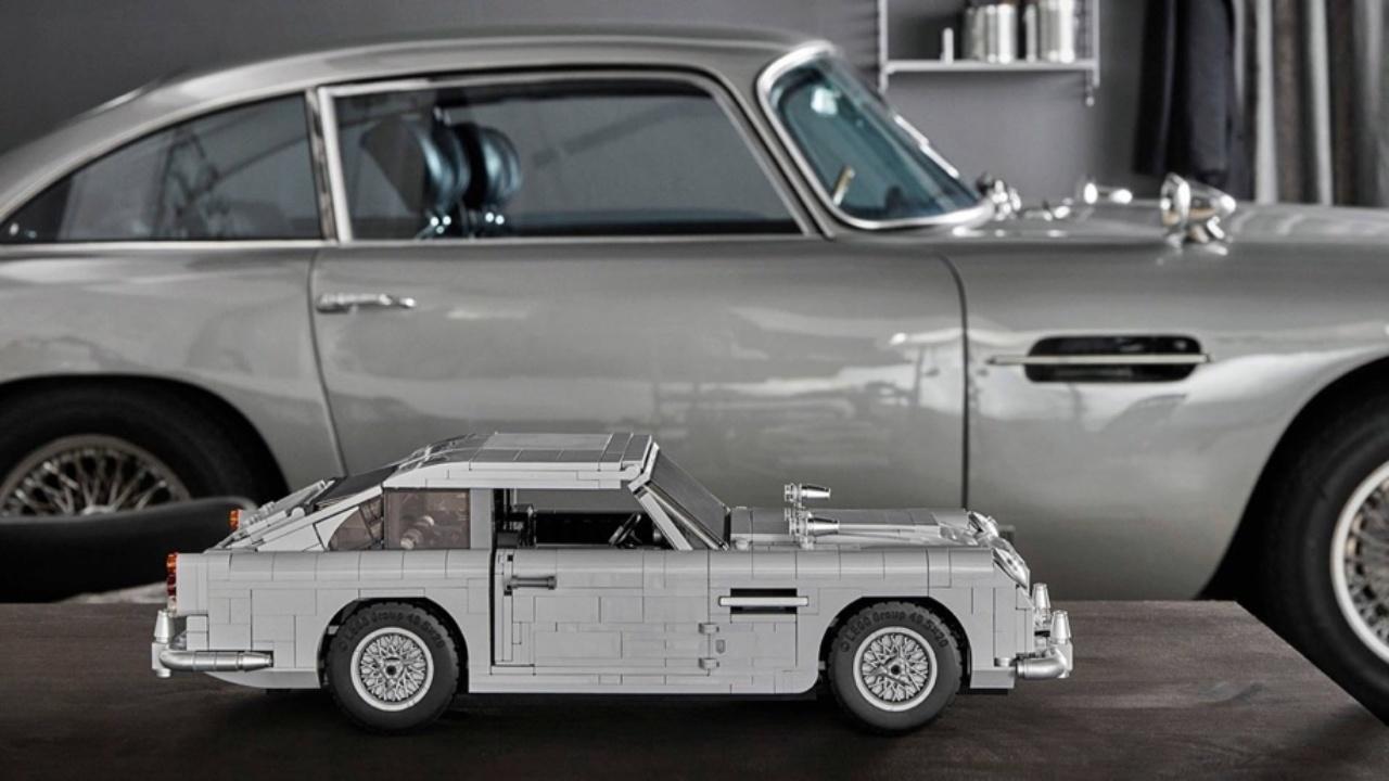 LEGO Aston Martin, ecco l'automobile di James Bond in mattoncini thumbnail