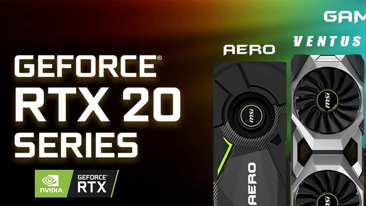 MSI presenta le schede grafiche basate sulla GPU GeForce RTX serie 20 thumbnail