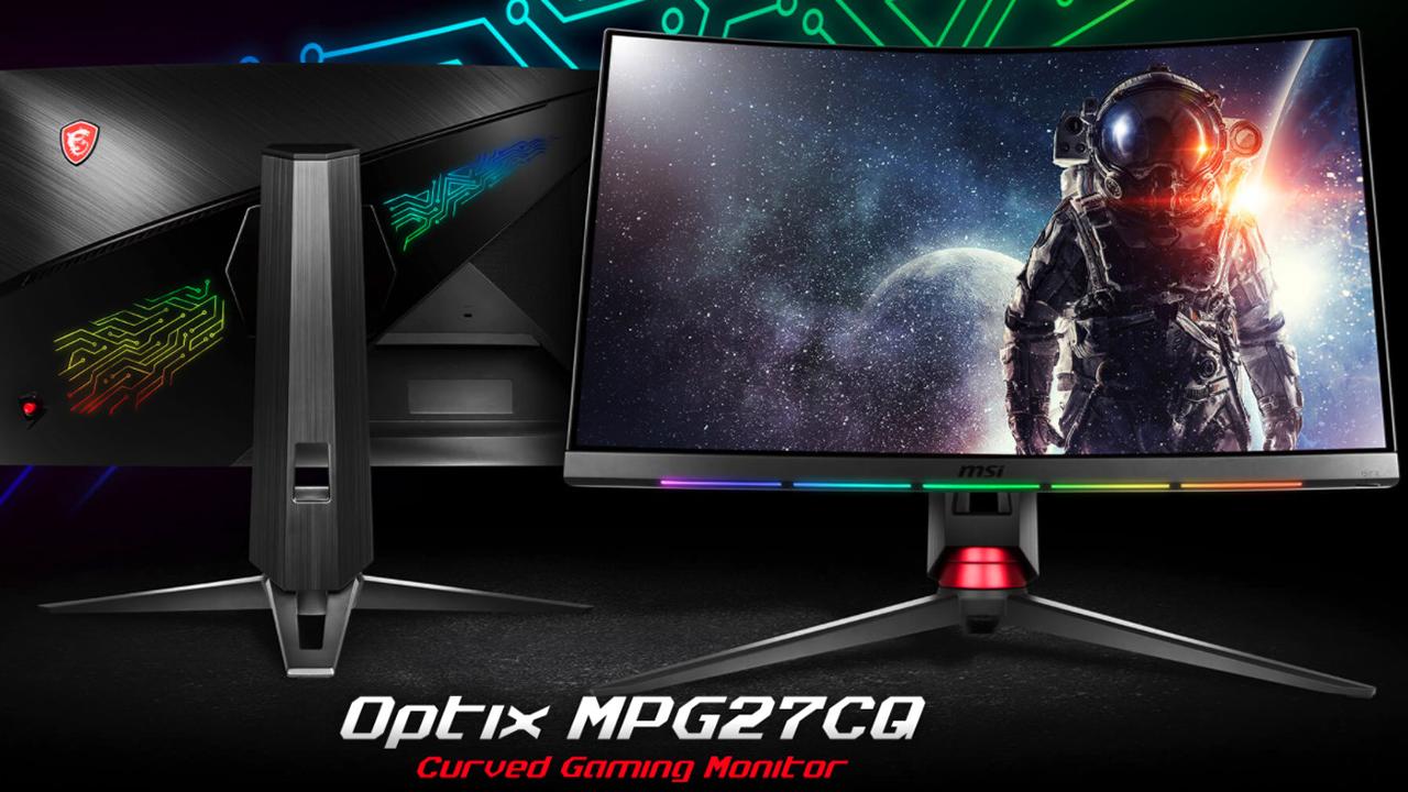 MSI Optix MPG: i nuovi monitor curvi realizzati in collaborazione con SteelSeries thumbnail