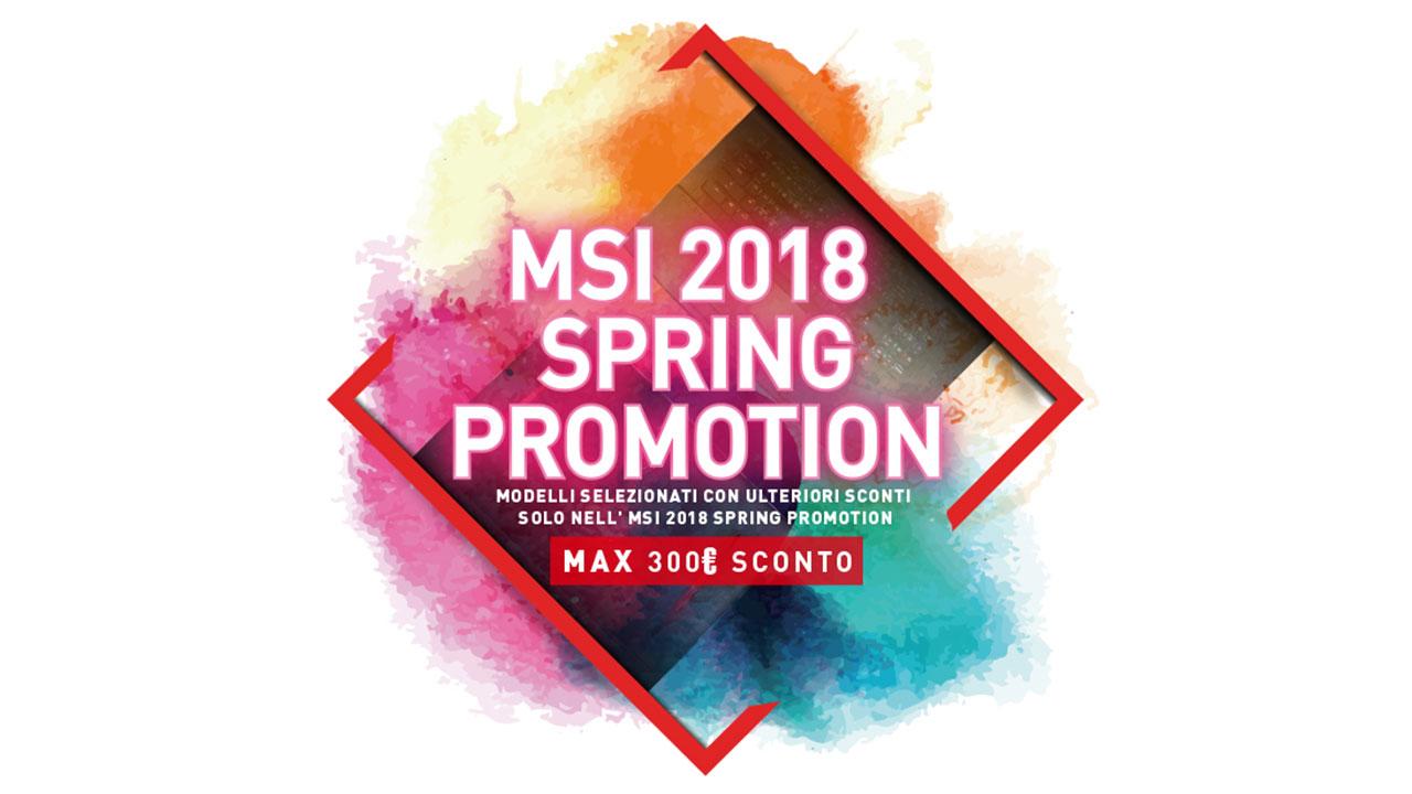 Arrivano i saldi di primavera di MSI: sconti fino a 300 Euro thumbnail