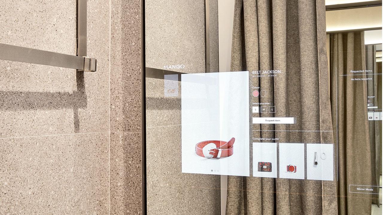Mango e Vodafone insieme per lanciare il nuovo camerino digitale thumbnail