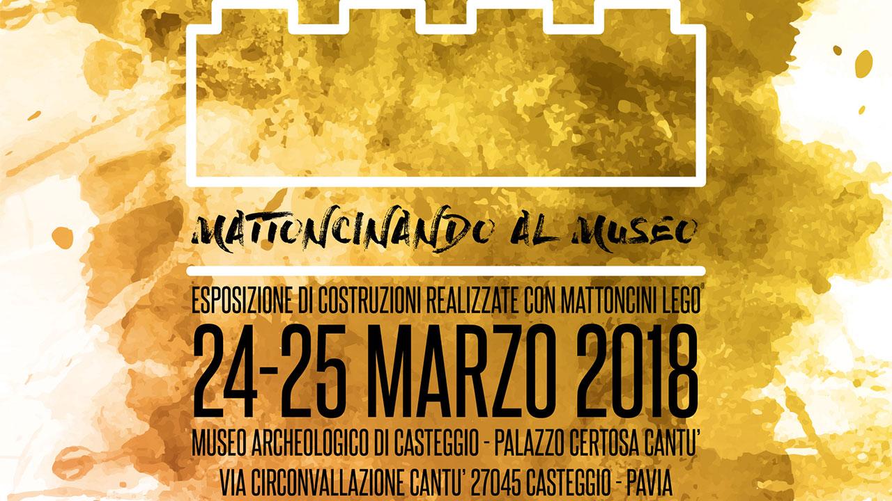 Mattoncinando al Museo: arriva a Casteggio la due giorni dedicata ai LEGO thumbnail