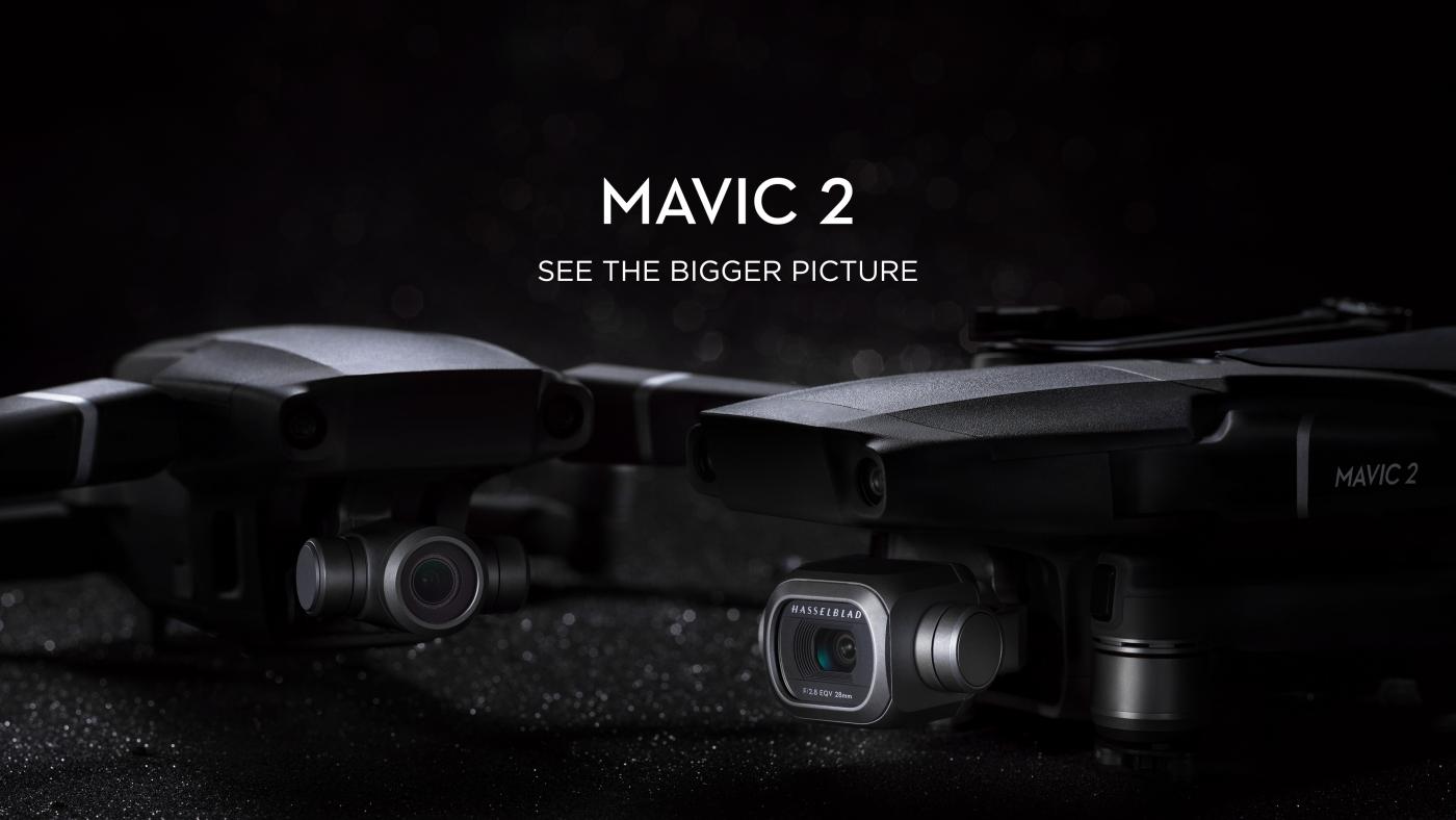 DJI Mavic 2 Pro e Mavic 2 Zoom: tutti i dettagli sui due nuovi droni thumbnail