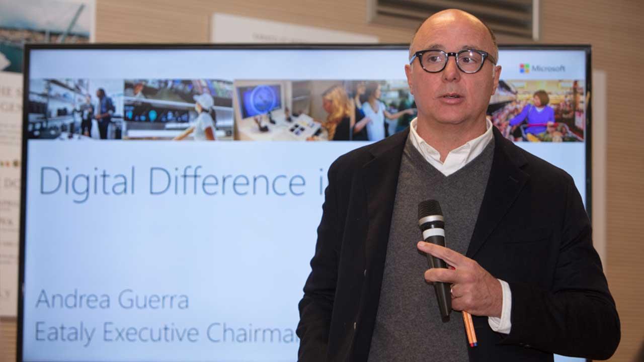 Microsoft e Eataly insieme per affrontare la trasformazione digitale thumbnail