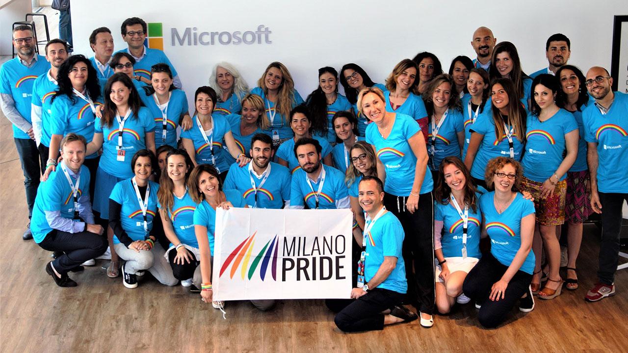 Anche Microsoft parteciperà al Milano Pride 2017 thumbnail