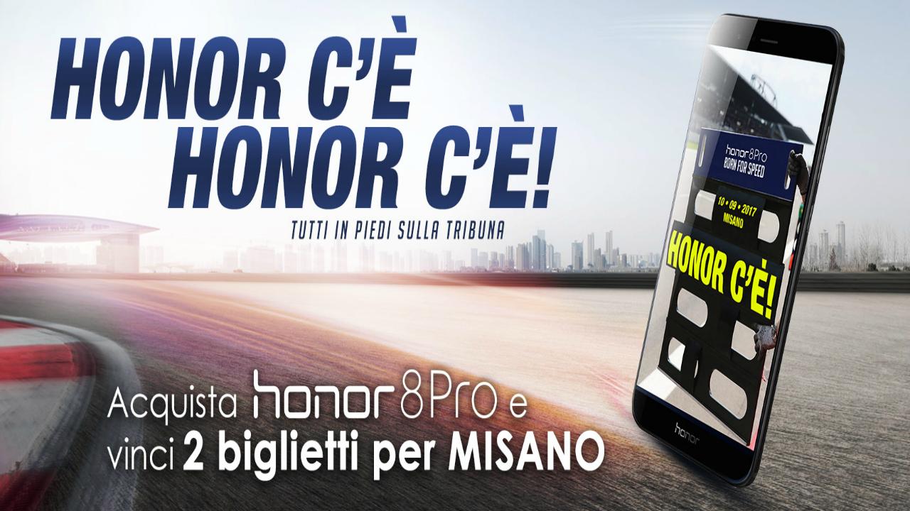 Honor 8 Pro ti porta al Gran Premio di Misano thumbnail