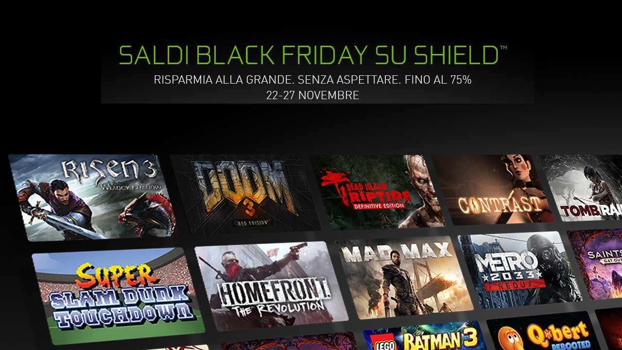 NVIDIA: sconti fino al 75% sui giochi Shield durante il Black Friday thumbnail