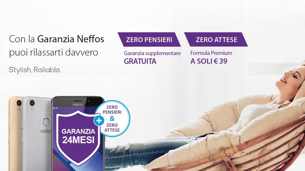 Neffos: per i primi 24 mesi disponibile le formule Zero Pensieri e Zero Attese thumbnail