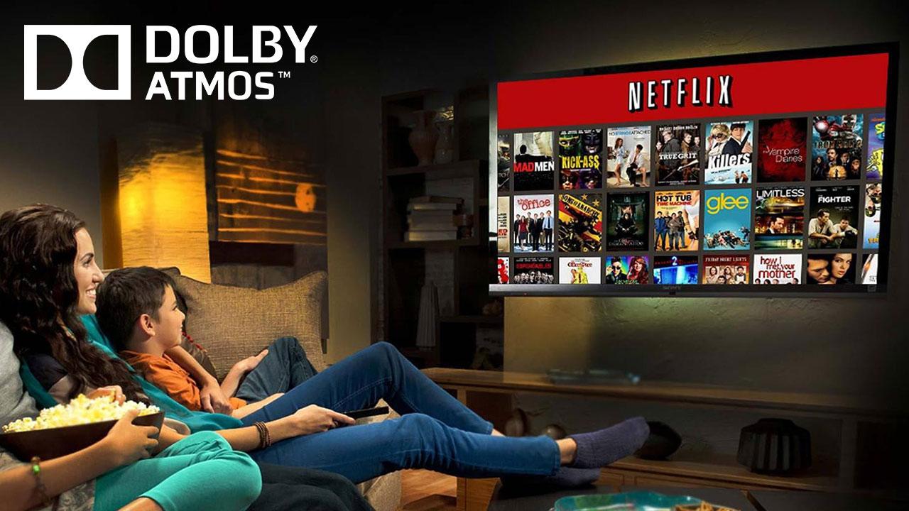 Netflix ora supporta la tecnologia Dolby Atmos thumbnail