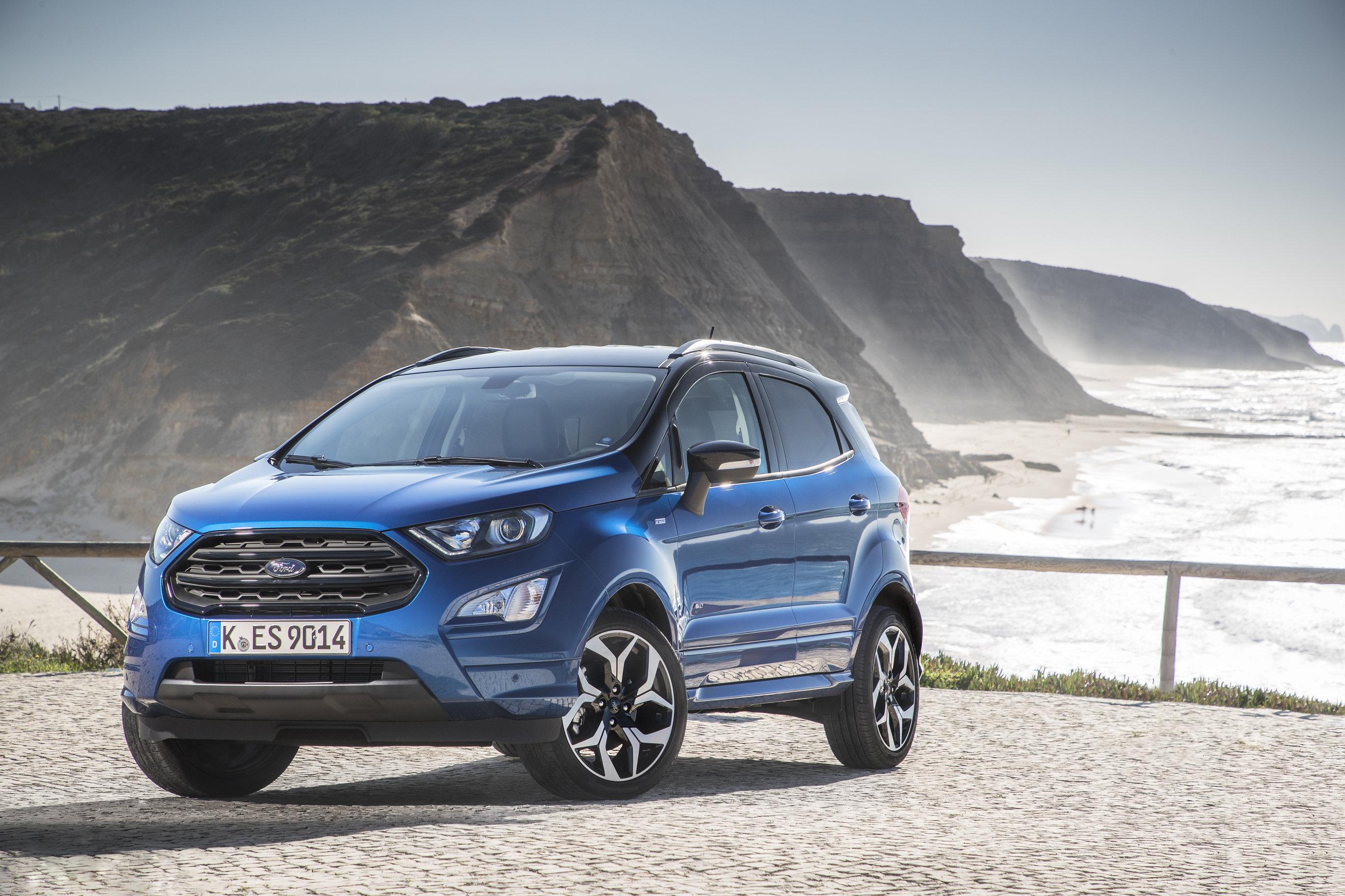 Ford Ecosport: ecco il SUV di nuova generazione targato Ford thumbnail