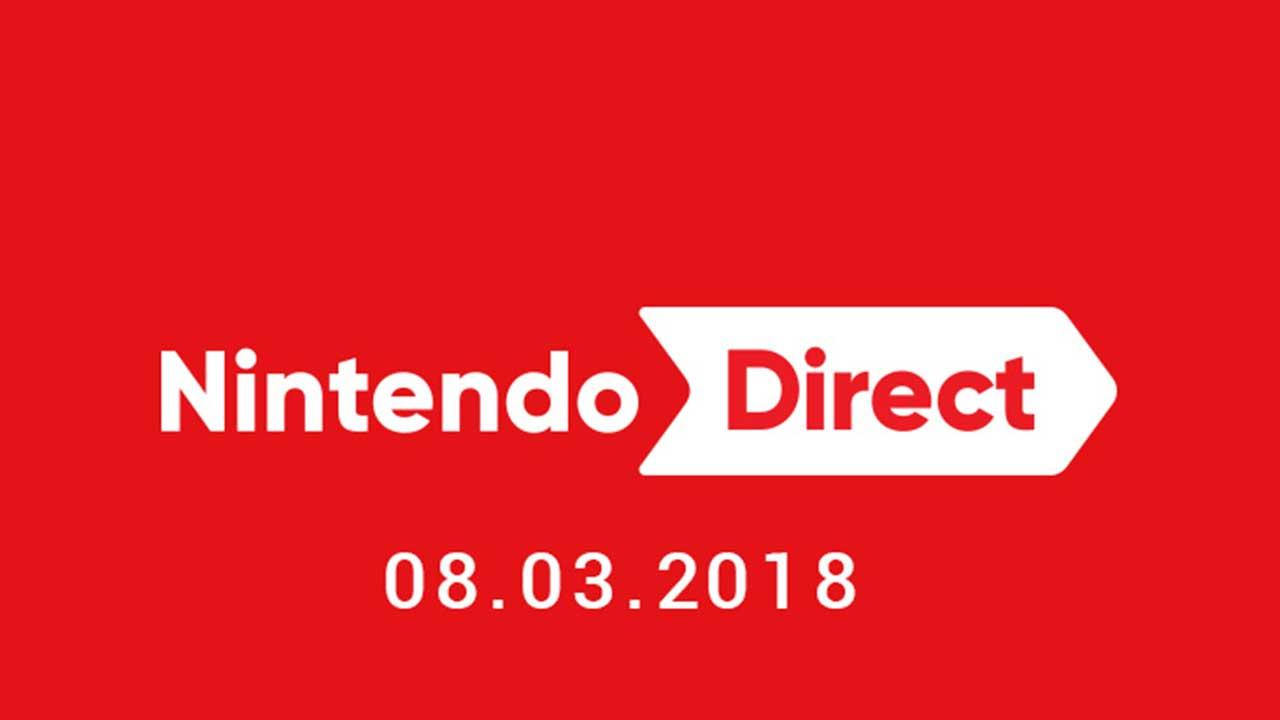Nintendo Direct in programma per giovedì 8 marzo thumbnail