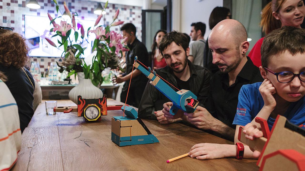 Nintendo Labo entra in cinque musei italiani thumbnail