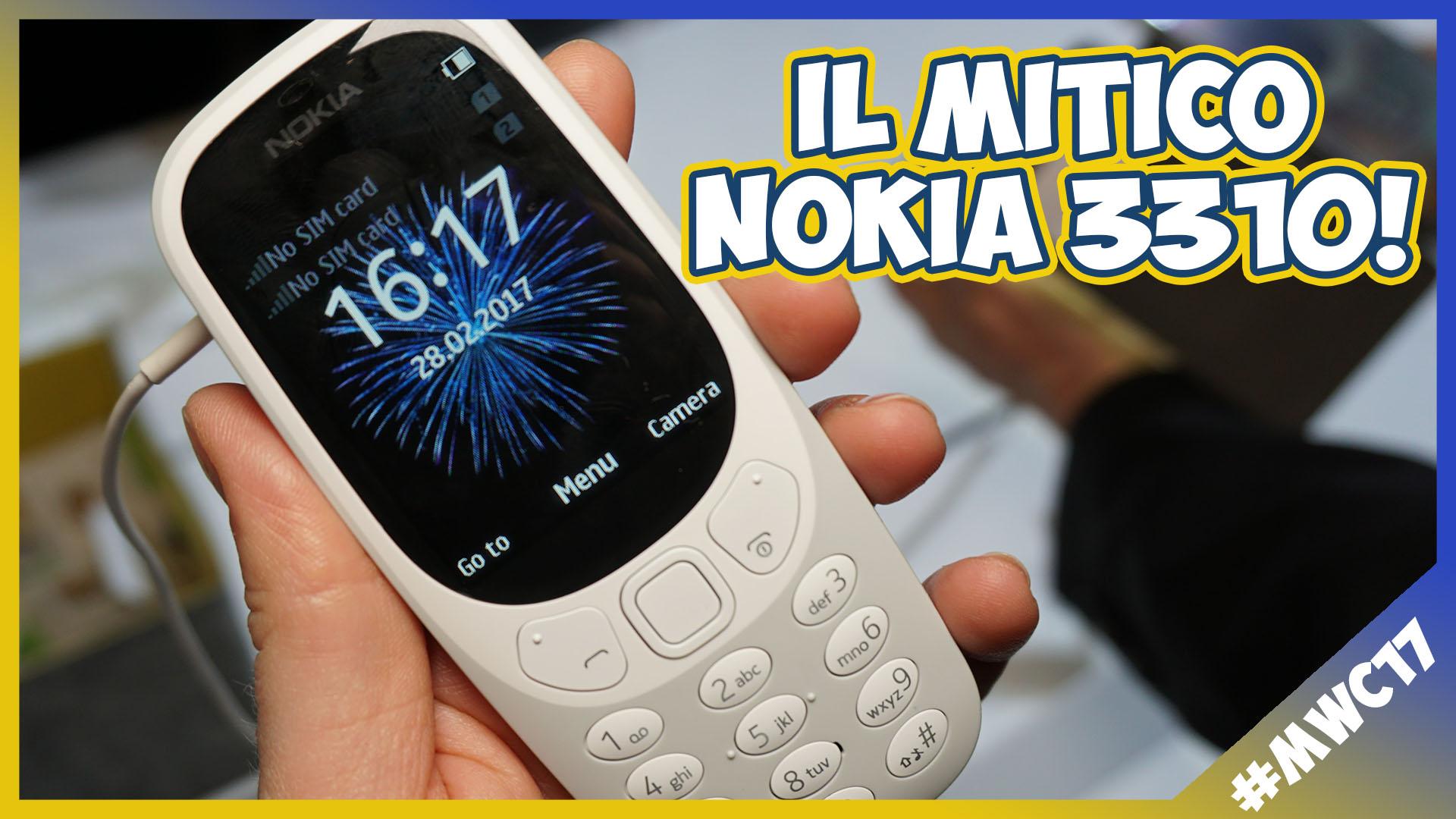 [MWC 2017] Nokia 3310: la nostra anteprima! thumbnail