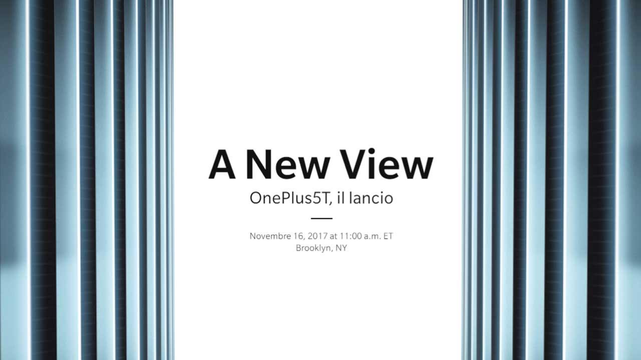 OnePlus 5T: come seguire la presentazione in diretta streaming thumbnail