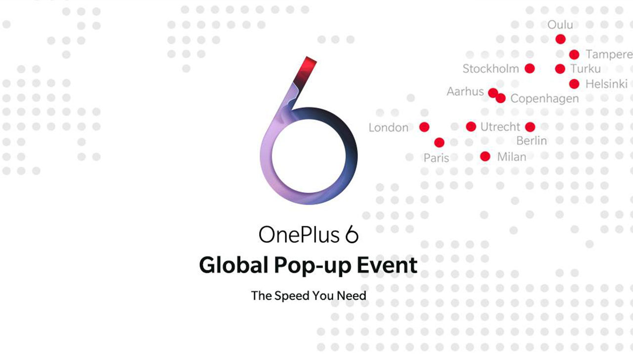 Il 21 maggio arriva a milano il OnePlus 6 Pop-up Store thumbnail