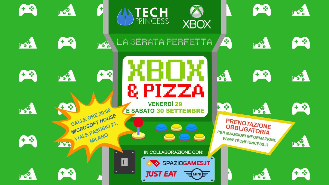 Tech Princess e Xbox vi invitano alla cena perfetta: Xbox e pizza thumbnail
