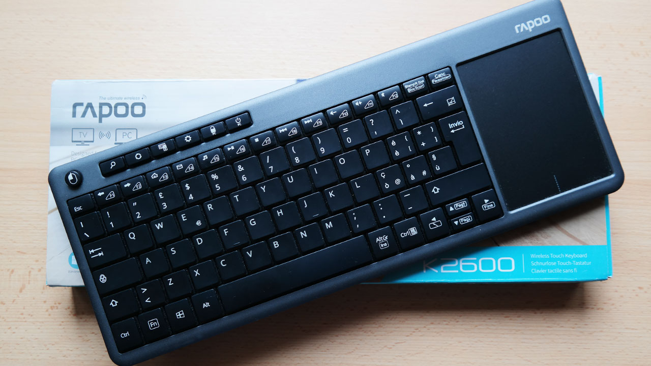 [Recensione] Rapoo K2600, la tastiera wireless minimale thumbnail