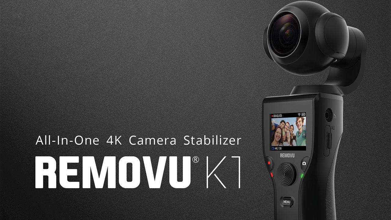 [CES 2018] Removu K1, la videocamera 4K con auto-stabilizzatore thumbnail