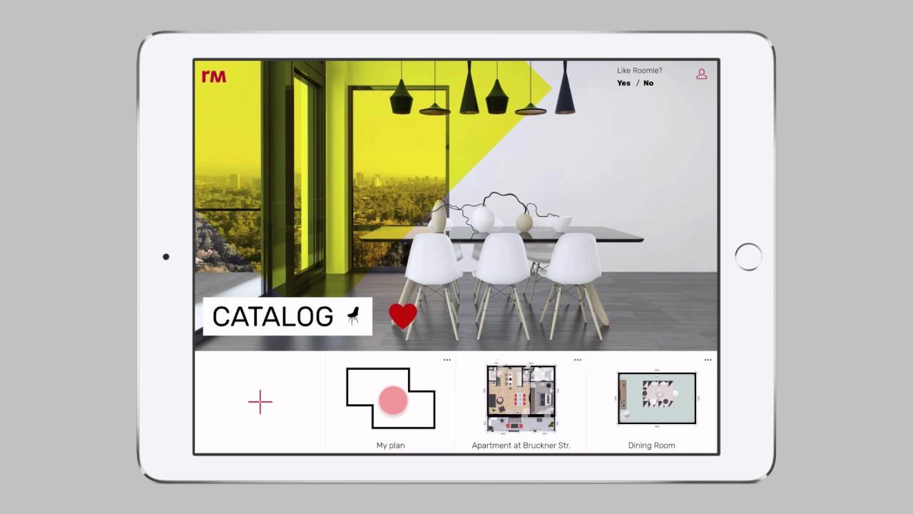Arriva roomle l app ideata per progettare la propria casa for App per progettare