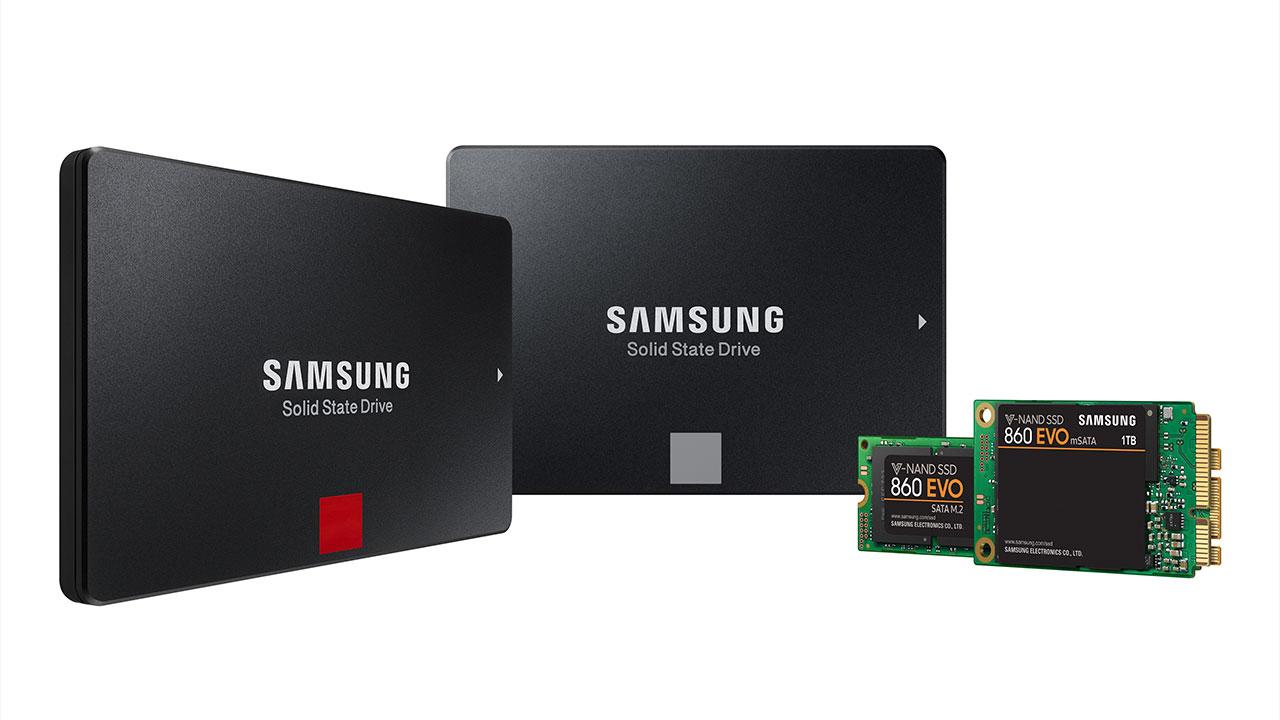 Samsung 860 PRO e 860 EVO: i due nuovi arrivati nella famiglia degli SSD portatili thumbnail