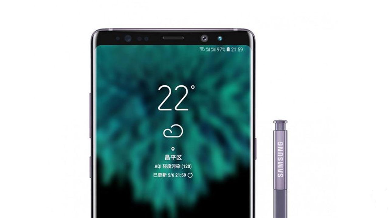 Galaxy Note 9 potrebbe essere identico al suo predecessore thumbnail