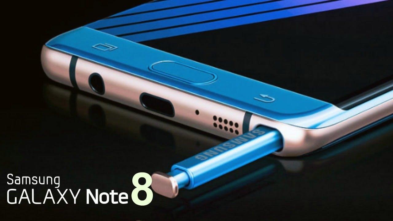 Samsung Galaxy Note 8 verrà presentato il 23 agosto thumbnail