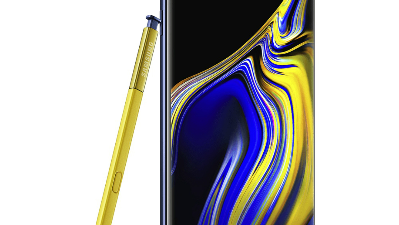 samsung galaxy note 9 render