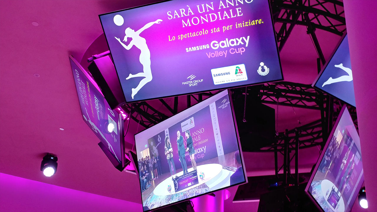 Samsung e Lega Volley insieme per la Samsung Galaxy Volley Cup thumbnail