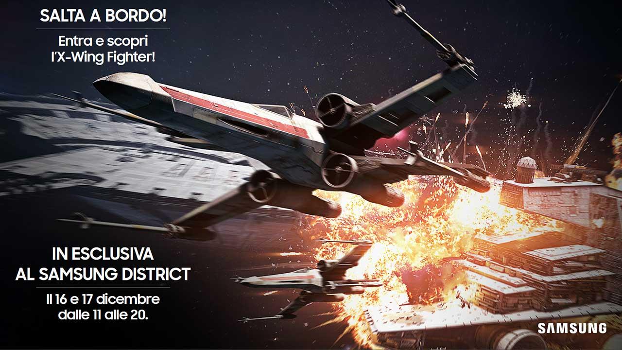 Il Samsung District apre le porte agli appassionati di Star Wars thumbnail