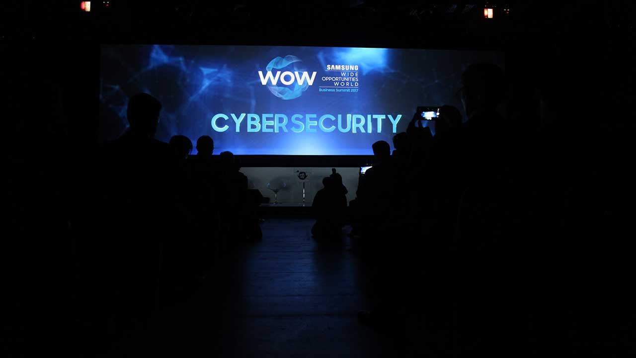 La cybersecurity al centro del Samsung WOW Business Summit 2017 thumbnail
