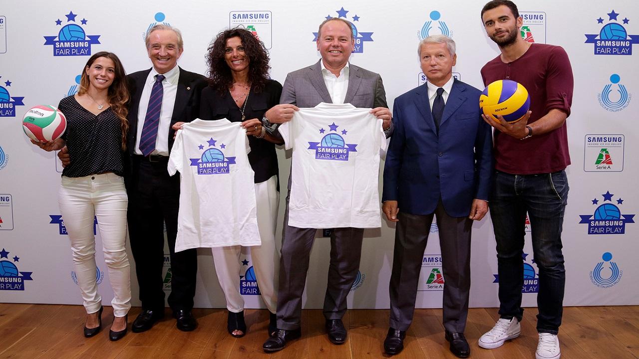 Con Samsung Fair Play, aiuta gli atleti di volley della tua squadra preferita! thumbnail