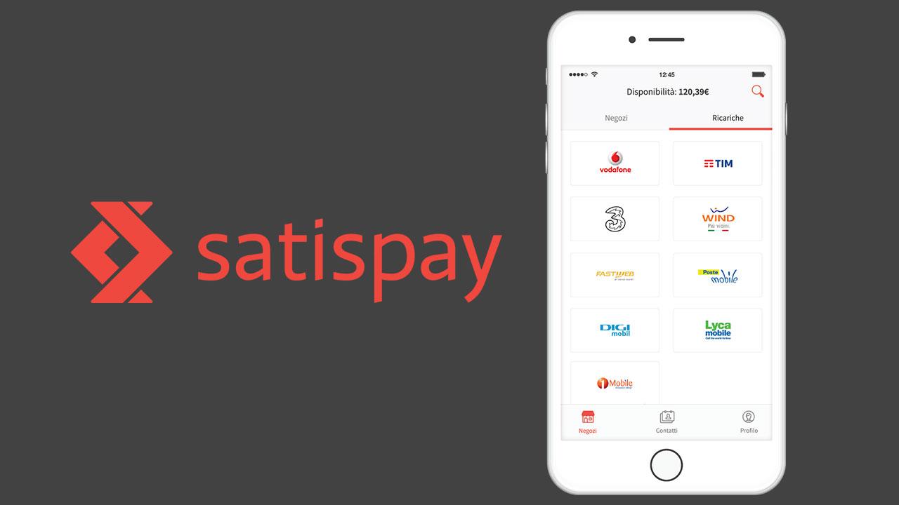 Satispay: cashback di 5 Euro su tutte le prime ricariche telefoniche thumbnail