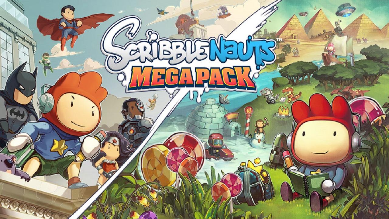 Annunciato Scribblenauts Mega Pack, con tanti contenuti divertenti thumbnail