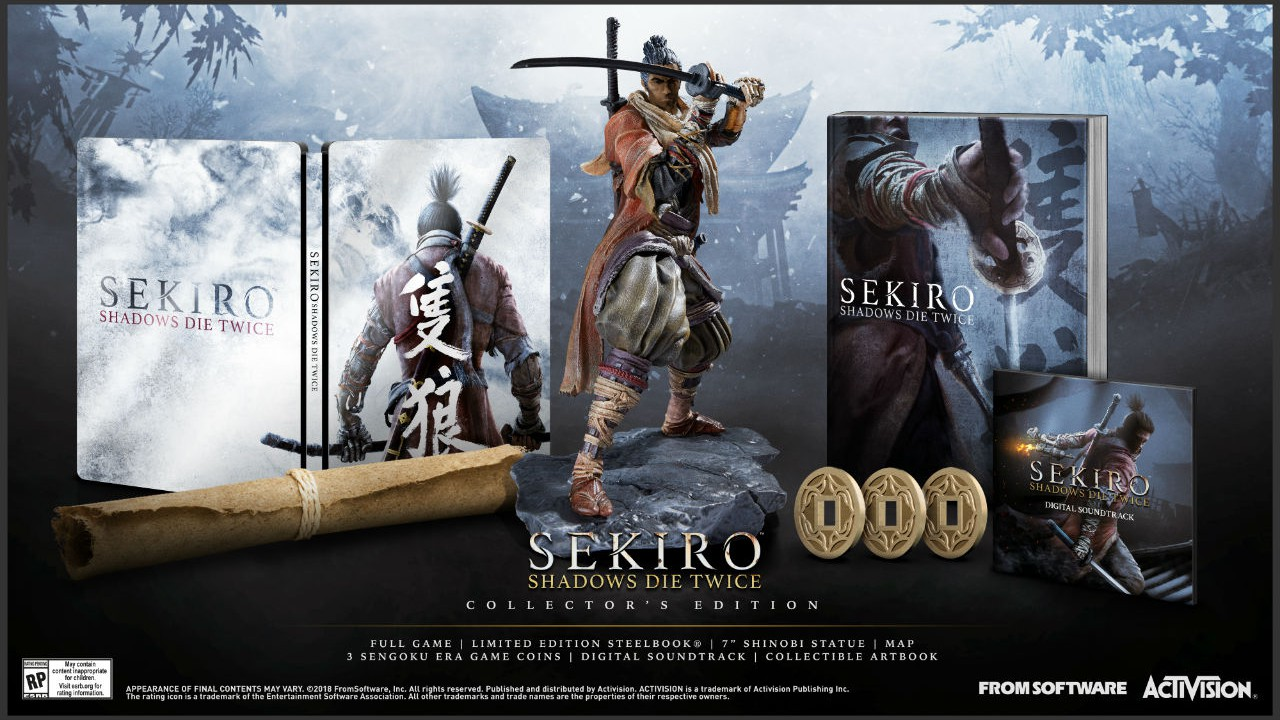 Sekiro: Shadows Die Twice, svelate la data di uscita e la Collector's Edition thumbnail