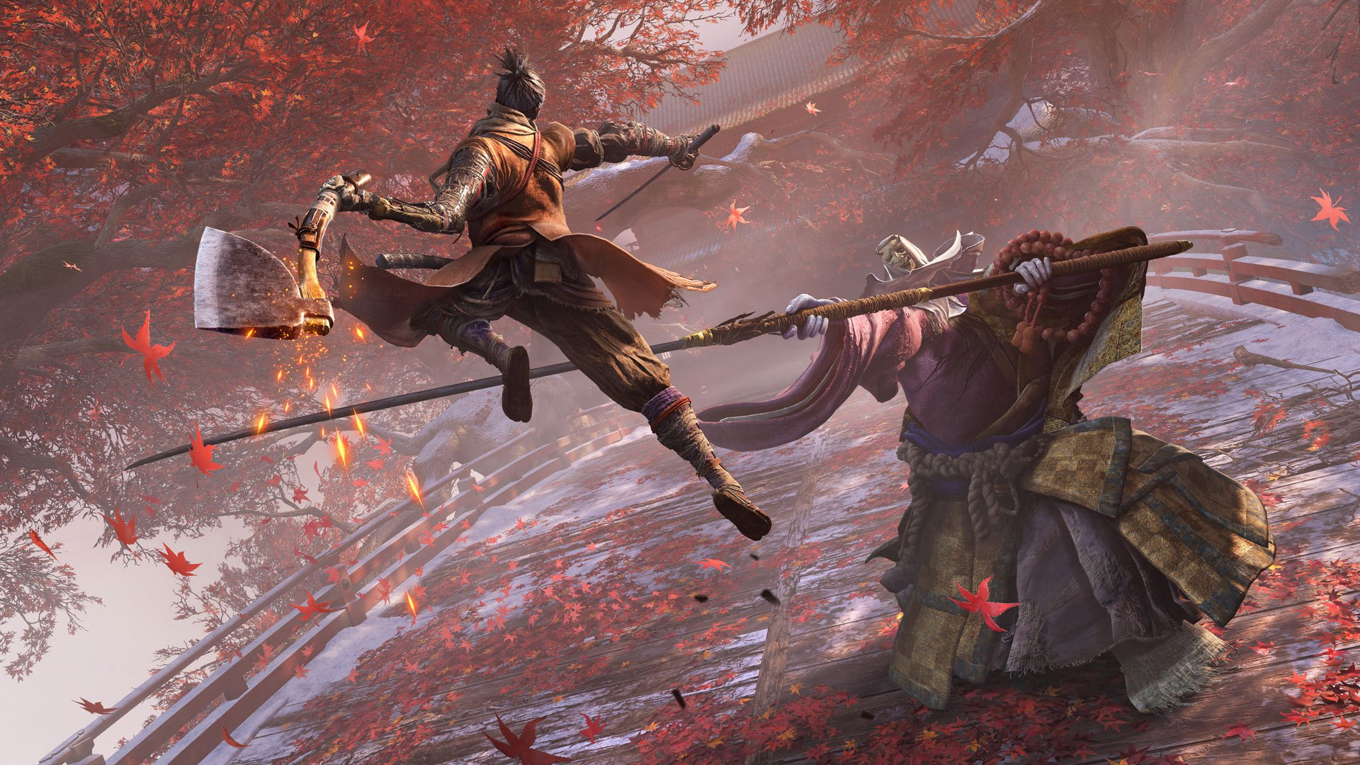 Sekiro boss fight Gamescom