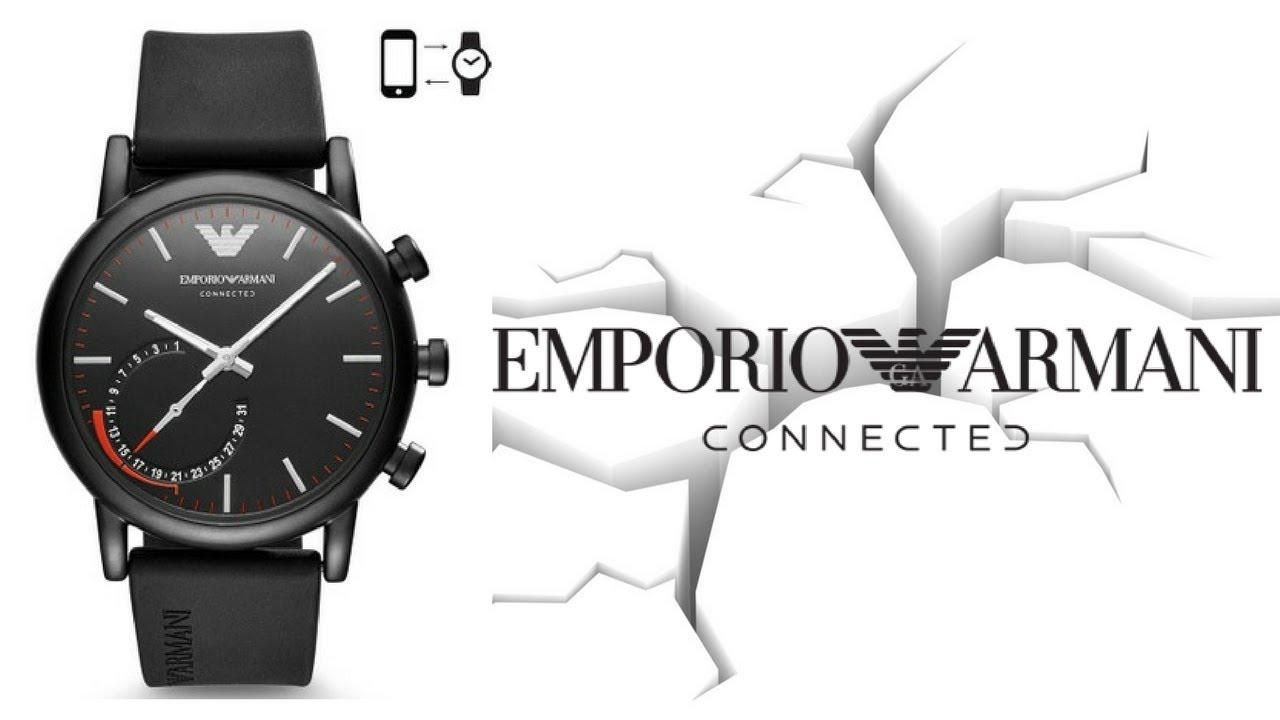 Smartwatch, Emporio Armani amplia la sua collezione con nuovi modelli thumbnail