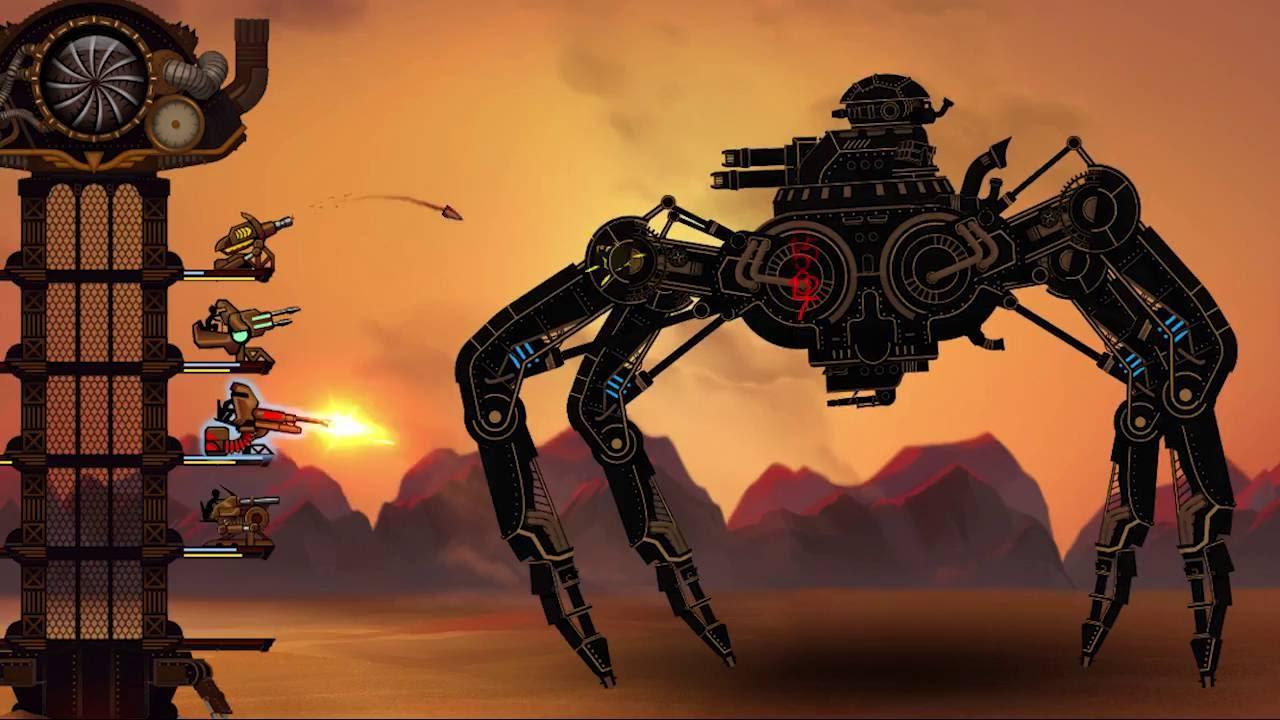 Steampunk tower 2, un nuovo video mostra le caratteristiche del gioco thumbnail