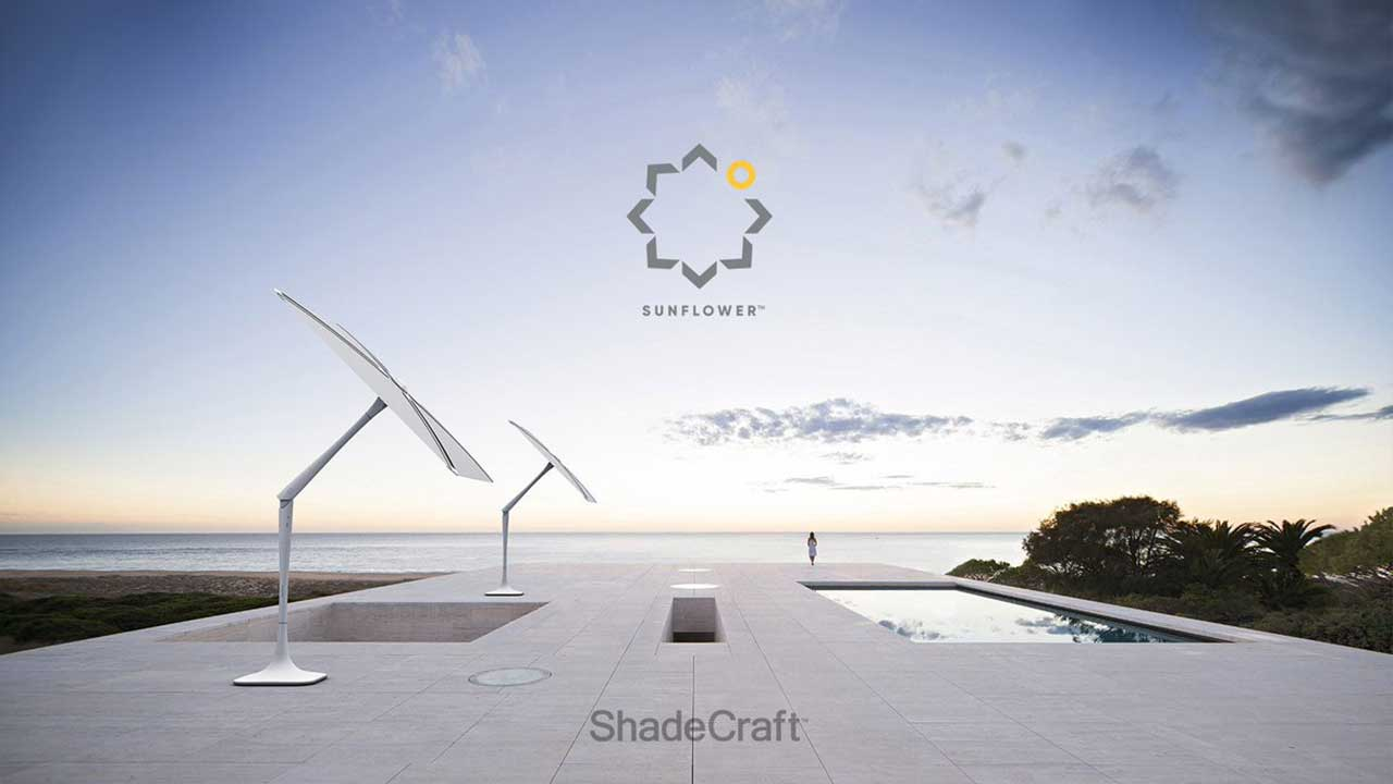 [IFA 2017] SunFlower: l'ombrellone smart di ShadeCraft thumbnail