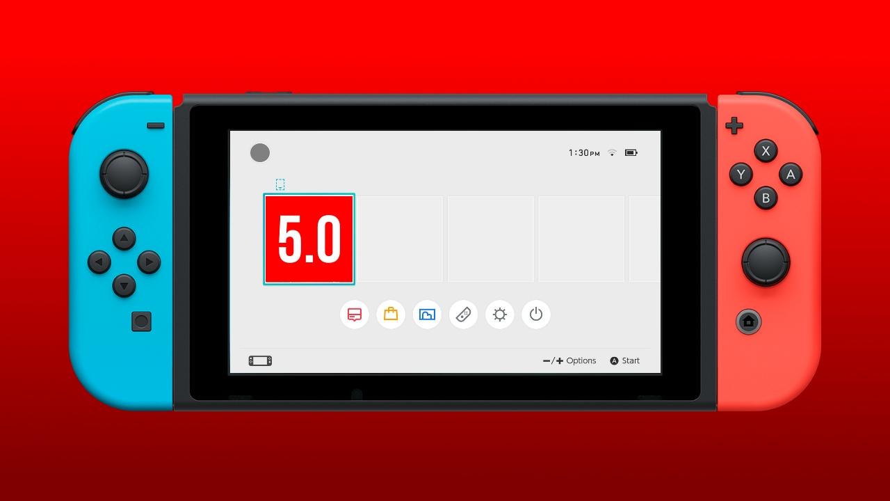 Nintendo Switch: in arrivo la versione 5.0 del firmware? thumbnail