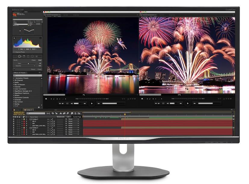 MMD presenta il nuovo monitor Philips Brilliance QHD thumbnail