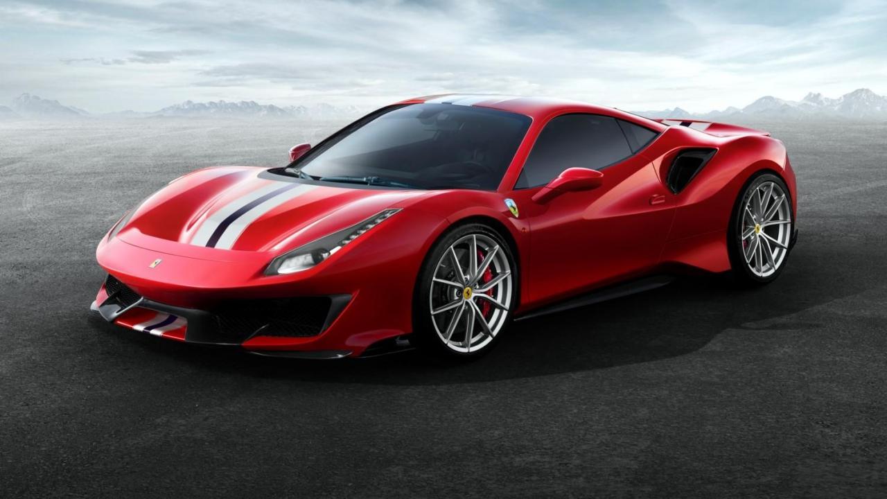 Ferrari sceglie i pneumatici Michelin per la sua 488 Pista thumbnail