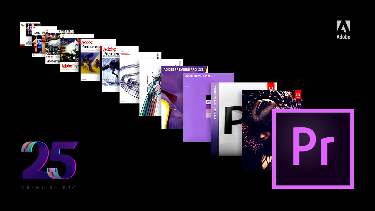 Adobe festeggia i 25 anni di Premiere Pro thumbnail