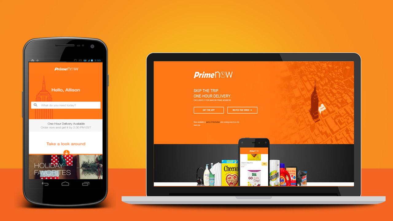 Da oggi potete usare Amazon Prime Now su desktop thumbnail