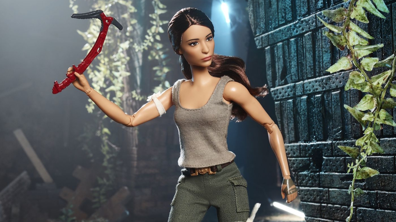 Tomb Raider: Mattel svela la nuova Barbie di Lara Croft thumbnail