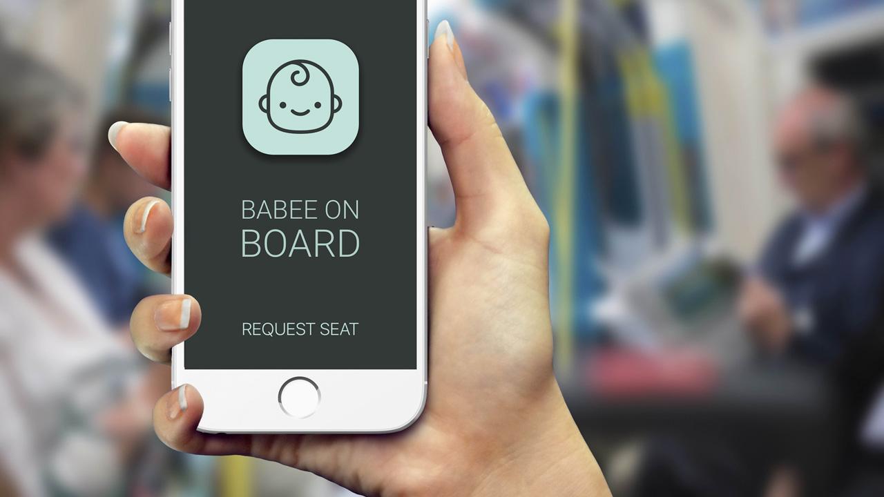 Babee on Board, un'app che aiuta le future mamme a sedersi sui mezzi pubblici thumbnail