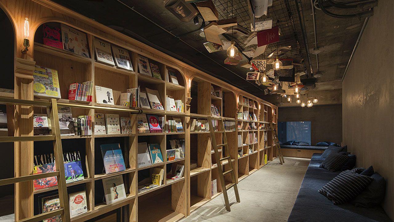 Book and Bed and Bar: l'hotel-libreria di Tokyo cambia nome thumbnail