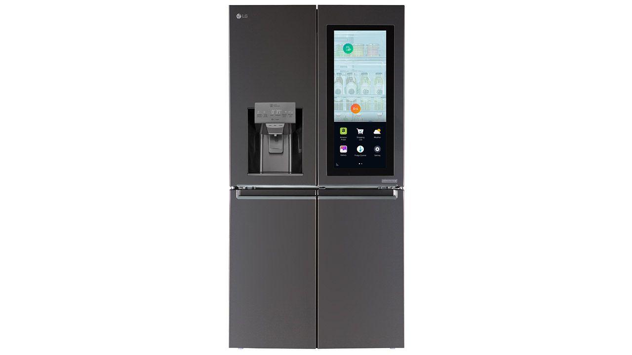 [CES 2017] LG presenta il frigorifero Smart InstaView che integra Alexa, l'assistente vocale di Amazon thumbnail