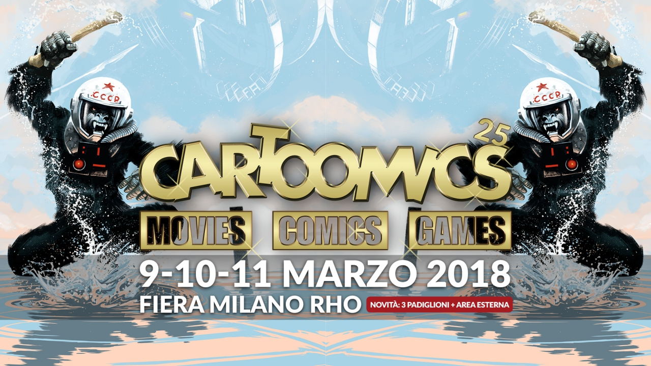 Cartoomics 2018: la fiera milanese comunicherà con Imageware thumbnail