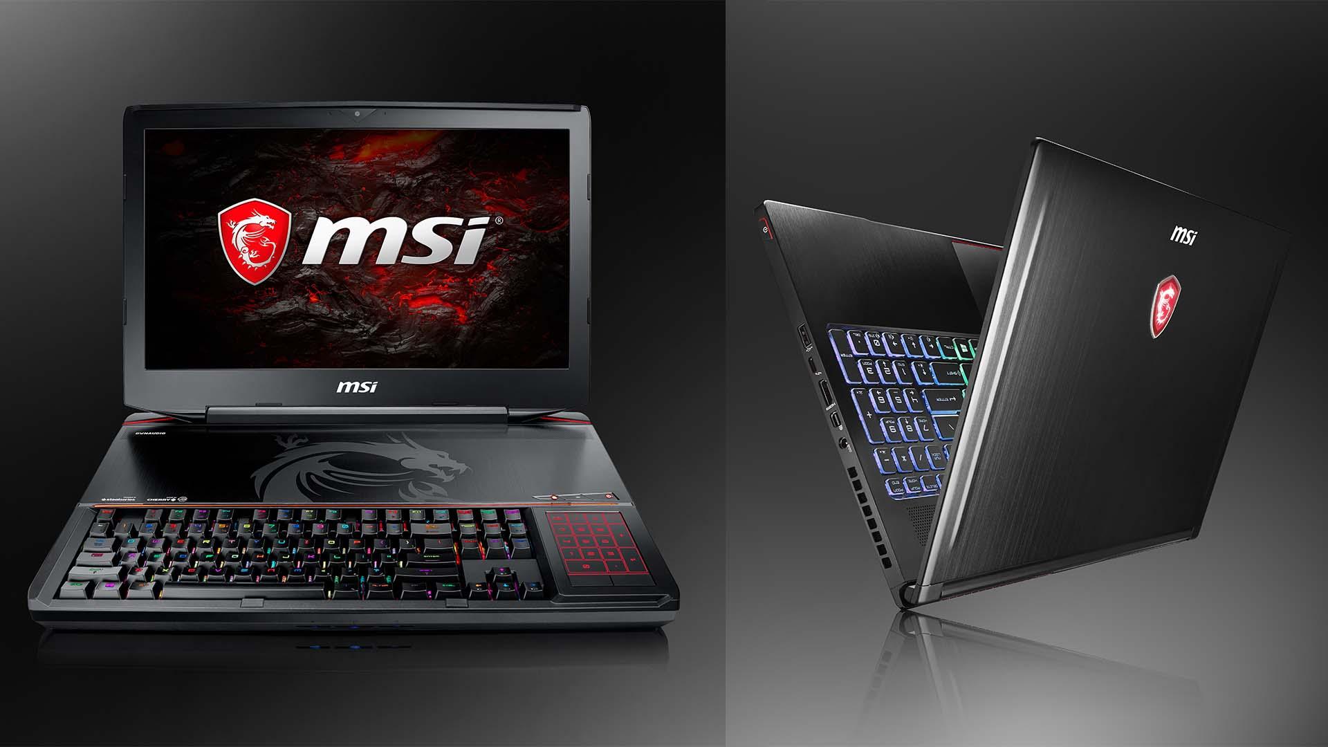 [CES 2017] MSI svela i nuovi portatili per il gaming thumbnail