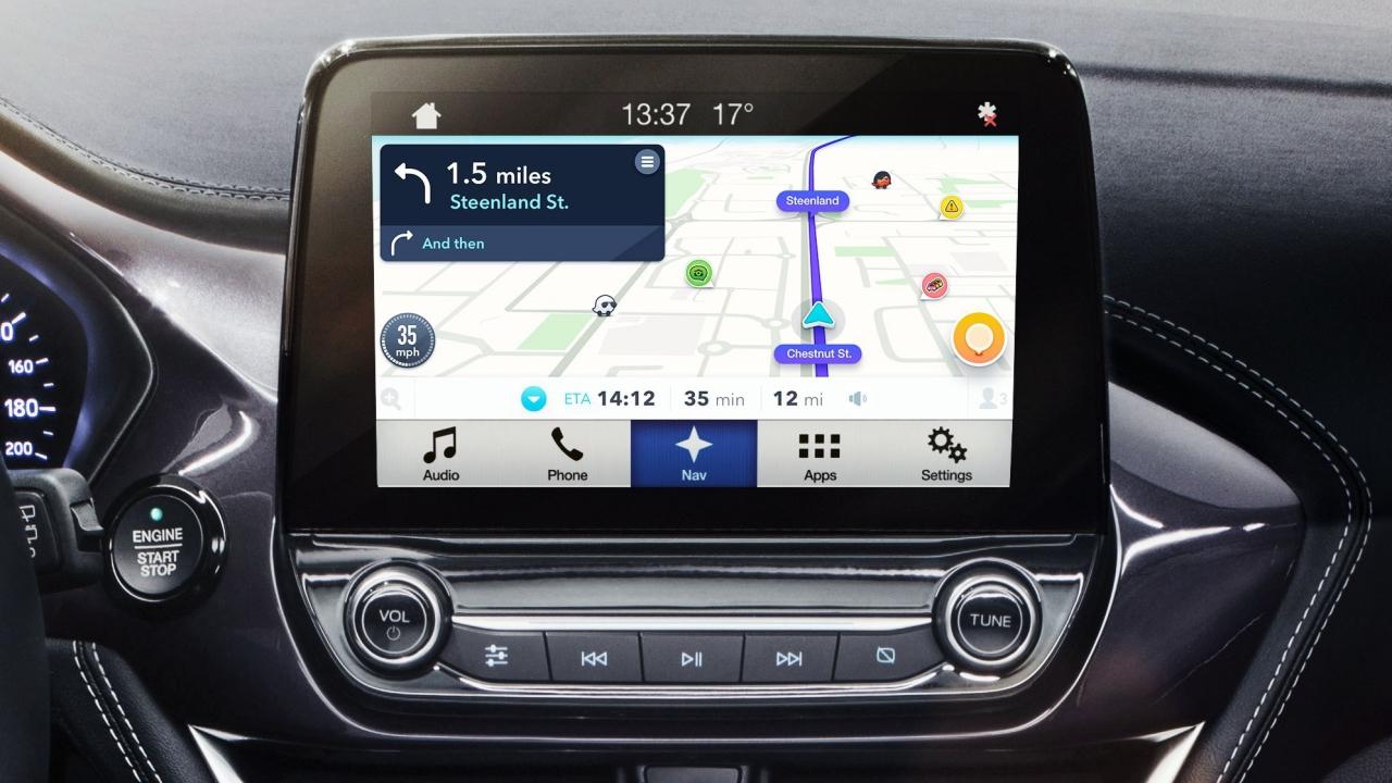Ford: l'app di navigazione Waze sarà integrata in Sync 3 thumbnail